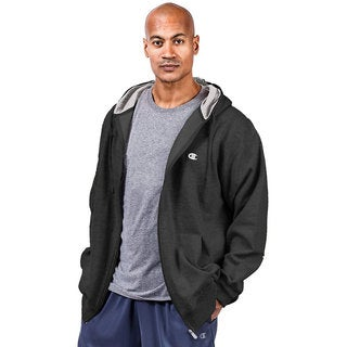 Champion Big & Tall Men's Zip Fleece Hoodie (Option: 4xlt)
