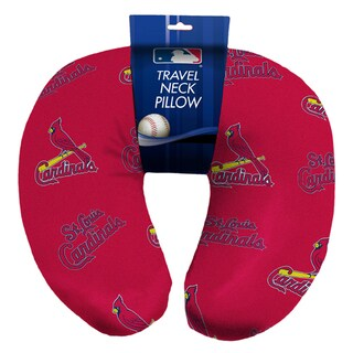 The Northwest Company Official MLB 117 Cardinals Travel Beaded Spandex Neck Pillow