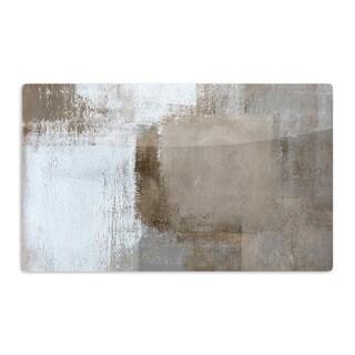 KESS InHouse CarolLynn Tice 'Calm and Neutral' Artistic Aluminum Magnet