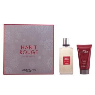 Guerlain Habit Rouge Men's 2-piece Gift Set