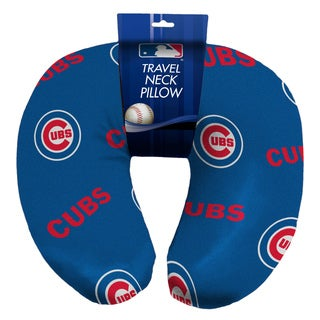 The Northwest Company Official MLB 117 Cubs Beaded Spandex Neck Pillow