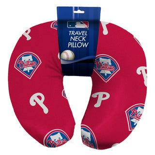 The Northwest Company Official MLB 117 Phillies Beaded Spandex Neck Pillow