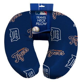 The Northwest Company Official MLB 117 Tigers Beaded Spandex Neck Pillow