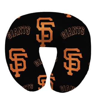 The Northwest Company Official MLB 117 SF Giants Beaded Spandex Neck Pillow