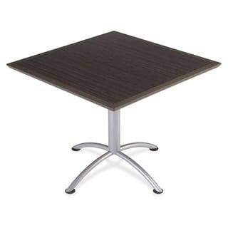 Iceberg Dura Comfort Edge iLand Square Tables - Gray Silver