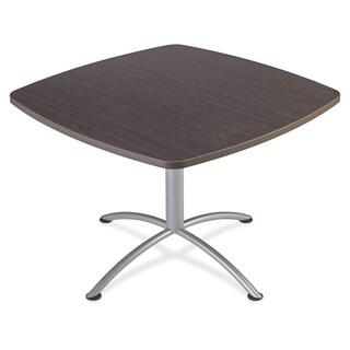 "Iceberg iLand 29""H Square Hospitality Table - Gray Silver"