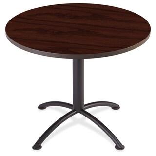 Iceberg iLand Round Hospitality Table - Mahogany