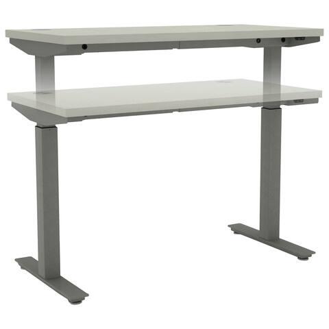 HON Adjustable T-Leg Base, Silver