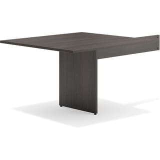 Basyx by HON Espresso Slab Base End Table - Espresso