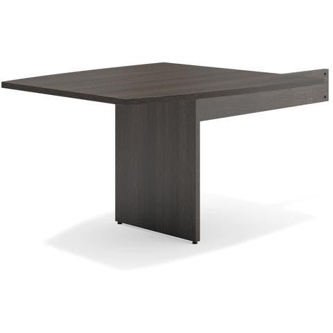 Basyx by HON Espresso Slab Base End Table - Espresso