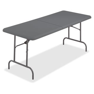 Iceberg IndestrucTable TOO Bifold Table - Charcoal (Or Charcoal Gray)