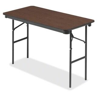 Iceberg 55304 Economy Folding Table - Walnut