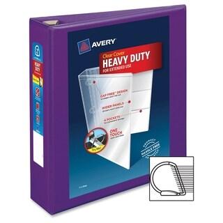 Avery One Touch EZD Heavy-duty Binder - Purple