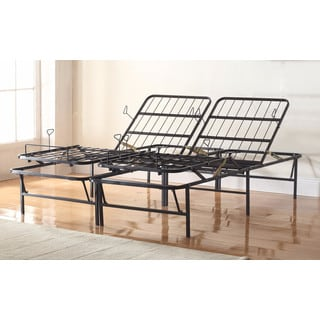Premium 14-inch Adjustable Metal Mattress Foundation/ Platform Bed