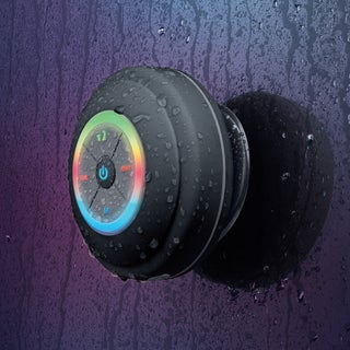 Merkury Innovations WAVZ Waterproof Multicolored Shower Speaker