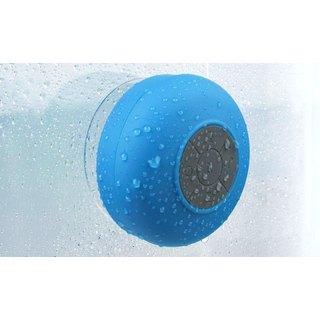 Merkury Innovations Bluetooth Waterproof Multicolor Shower Speaker