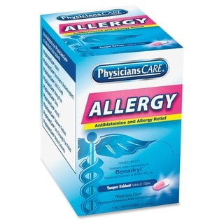 PhysiciansCare Allergy Relief Tablets - Blue (50/Box)