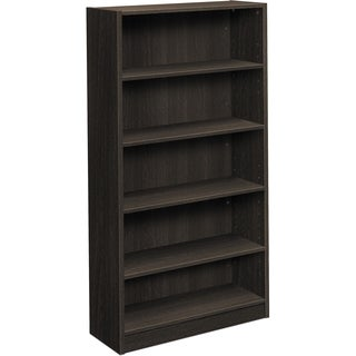 Basyx by HON Espresso BL Laminate 5-shelf Bookcase - Espresso