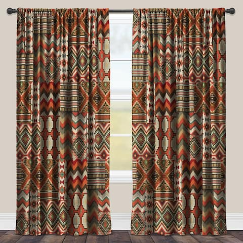 Laural Home Room-darkening Southwestern Window Curtain