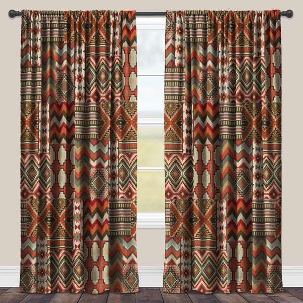 products of and for fashions southwest window set drapes houzz multi southwestern home panels curtains trendy greenland
