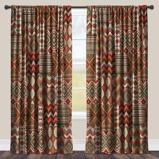 Laural Home Room-darkening Southwestern Window Curtain|https://ak1.ostkcdn.com/images/products/12120870/P18980611.jpg?impolicy=medium