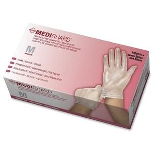 Medline MediGuard Vinyl Non-sterile Exam Gloves - Clear (150/Box)