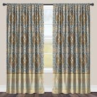 Laural Home Ornate Pattern Room-darkening Window Curtain