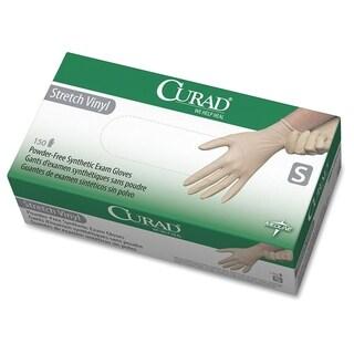 Medline Powder-free Stretch Vinyl Exam Gloves - Cream (150/Box)