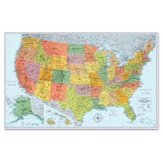 Rand McNally U.S. Wall Map - Multi