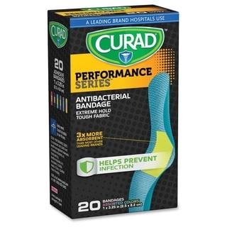 Curad Colored Antibacterial Bandages - Assorted (20/Box)