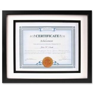 Dax Airfloat Certificate Frame - Black