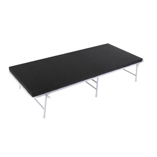 Metal Folding Bed with Mattress and Storage Bag