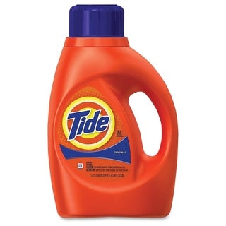 Tide 32 Loads Liquid Detergent - Orange (Comes in pack of 6)