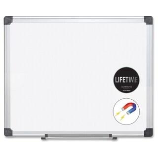 MasterVision Super Value Magnetic Dry Erase Board - Aluminum