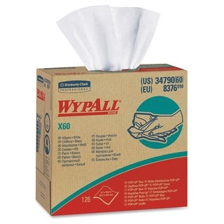 Wypall X60 Wipers - White (Comes in pack of 10)