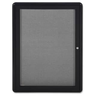 Ghent 1-Door Ovation Enclosed Fabric Bulletin Board - Black https://ak1.ostkcdn.com/images/products/12120997/P18980698.jpg?impolicy=medium