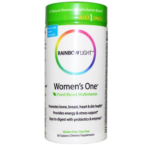 Shop Rainbow Light Women S One Food Based Multivitamin 90