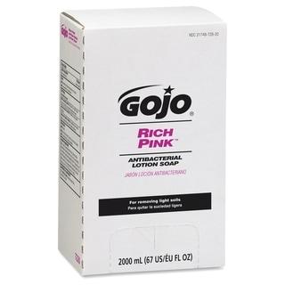 Gojo RICH PINK Antibacterial Lotion Soap - Pink (1/Carton)
