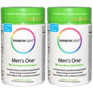 Rainbow Light Men's One Just Once Multivitamin (30 tablets)|https://ak1.ostkcdn.com/images/products/12121050/P18980747.jpg?impolicy=medium