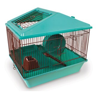 Ware Hamster/Gerbil 16-inch 2-level Small Animal Critter House
