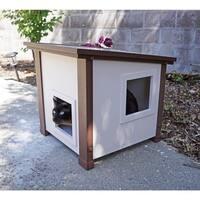 New Age Pet ecoFLEX Outdoor Feral Cat House