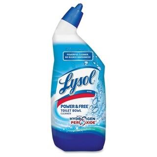 Lysol Power & Free Toilet Bowl Cleaner - White/Blue (1/Carton)