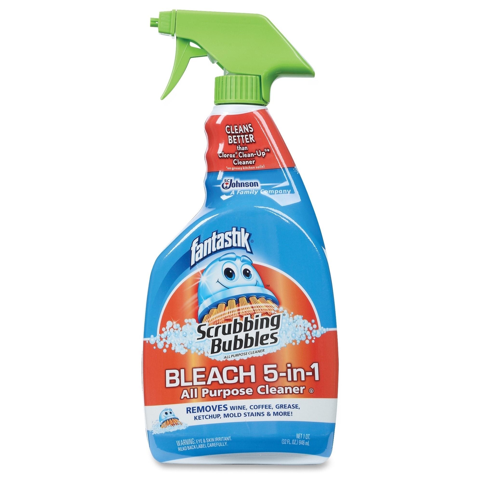 Scrubbing Bubbles Bleach 5-in-1 All Purpose Cleaner - Cle...