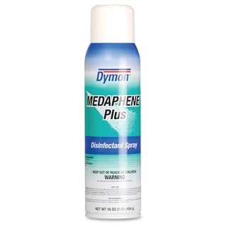 Dymon Medaphene Plus Disinfectant Spray - Red/Blue (Comes in pack of 12)