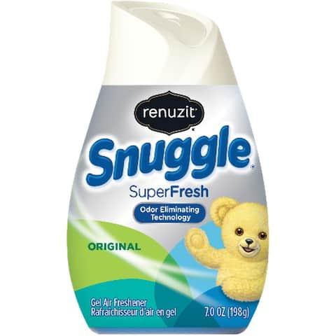 SNUGGLE SuperFresh Original Air Freshener Cone (Comes in pack of 12) - White