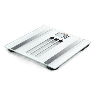 Soehnle Silver/White Body Control Easy Fit Personal Digital Scale