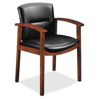 HON Park Avenue Collection Hardwood Guest Chairs - Cognac