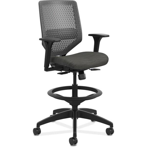 HON Solve Seating ReActiv Task Stool - Black