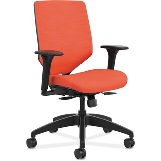 HON Solve Seating ReActiv Mid-back Task Chair - Red