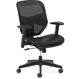 Basyx by HON HVL534 High-back Task Chair - Black
